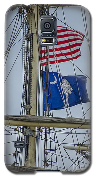 Tall Ships Flags Galaxy S5 Case by Dale Powell