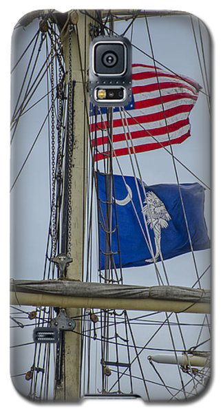 Tall Ships Flags Galaxy S5 Case