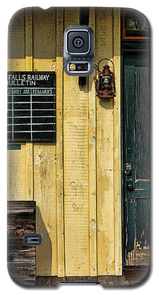 Galaxy S5 Case featuring the photograph Tallulah Falls Rail Bulletin by Kenny Francis