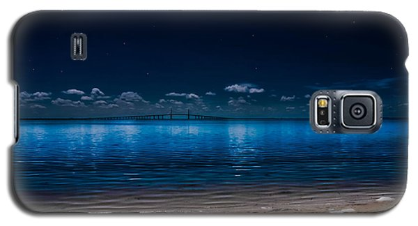 Tampa Bay Nights Galaxy S5 Case by Randy Sylvia