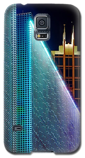 Tampa Museum Of Art At Night Galaxy S5 Case by Daniel Woodrum