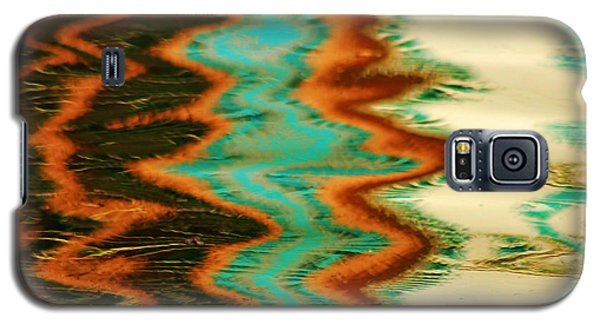 Tampa Reflection Abstract I Galaxy S5 Case by Daniel Woodrum