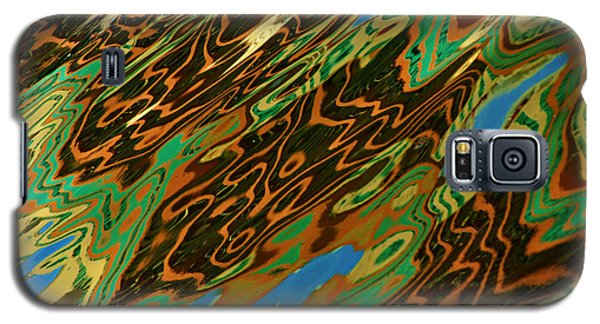 Tampa Reflection Abstract IIi Galaxy S5 Case by Daniel Woodrum