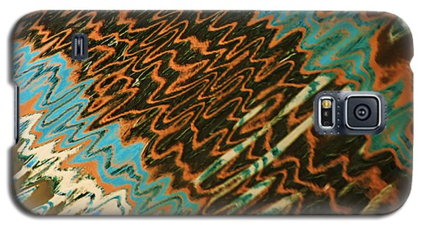 Tampa Reflection Abstract Iv Galaxy S5 Case by Daniel Woodrum