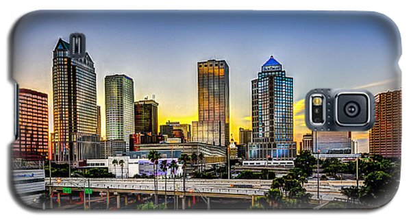 Tampa Skyline Galaxy S5 Case by Marvin Spates