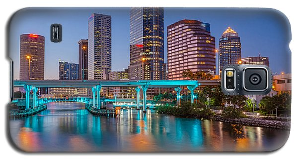 Galaxy S5 Case featuring the photograph Tampa Skylines by RC Pics