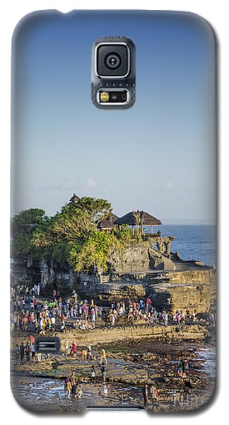 Tanah Lot Temple In Bali Indonesia Coast Galaxy S5 Case