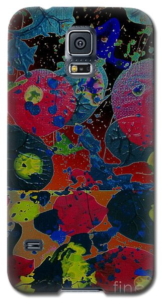 Galaxy S5 Case featuring the painting Tangent by Jacqueline McReynolds