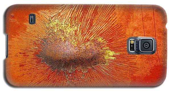 Tangerine Burst Galaxy S5 Case