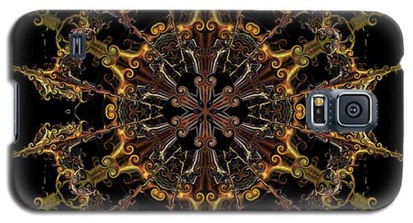 Galaxy S5 Case featuring the digital art Tangerine Love by Rhonda Strickland