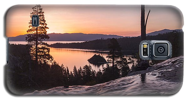 Tangerine Sunrise Galaxy S5 Case