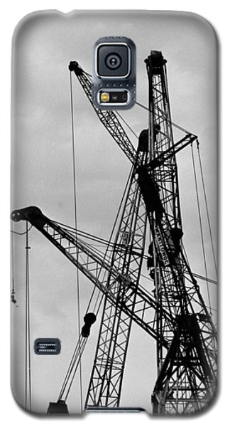 Tangled Crane Booms Galaxy S5 Case