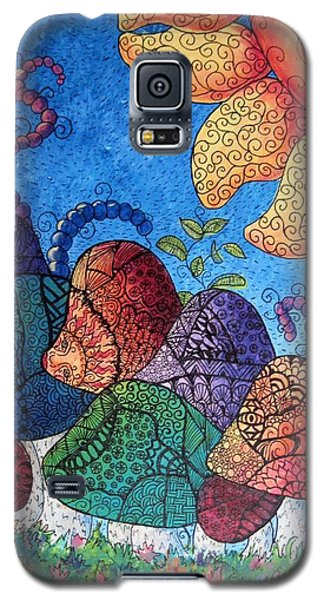 Tangled Mushrooms Galaxy S5 Case