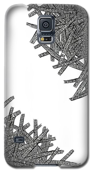 Tangled Up Galaxy S5 Case by Shabnam Nassir