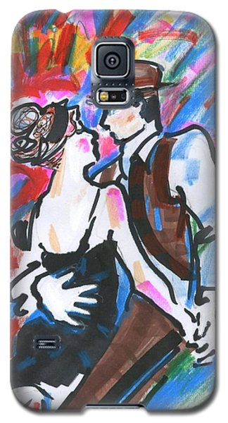 Tango A Galaxy S5 Case by Mary Armstrong