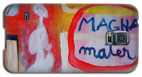 Galaxy S5 Case featuring the painting Tango by Ana Maria Edulescu