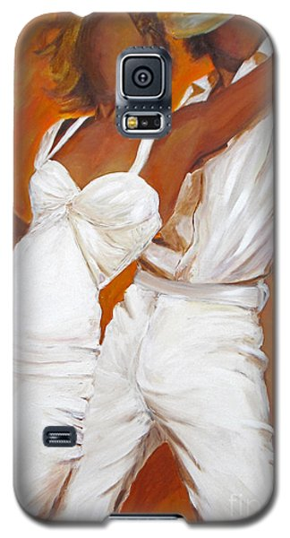 Tango Blanco Galaxy S5 Case by Sheri  Chakamian