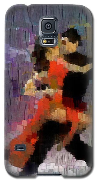 Galaxy S5 Case featuring the painting Tango by Georgi Dimitrov