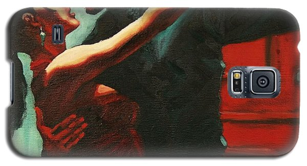 Tango Intensity Galaxy S5 Case by Janet McDonald