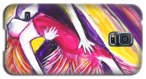Galaxy S5 Case featuring the painting Tango Love by Anya Heller