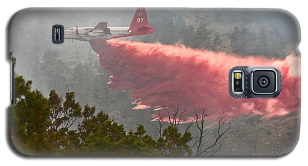 Tanker 07 On Whoopup Fire Galaxy S5 Case by Bill Gabbert