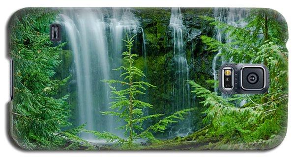Pacific Northwest Waterfall Galaxy S5 Case by Nick  Boren
