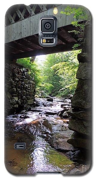 Tannery Hill Bridge Galaxy S5 Case by Mim White