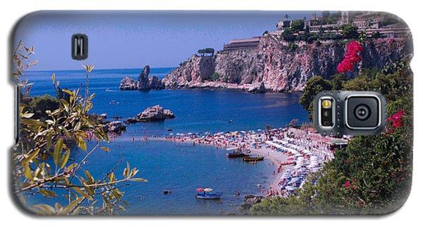 Taormina Beach Galaxy S5 Case by Dany Lison