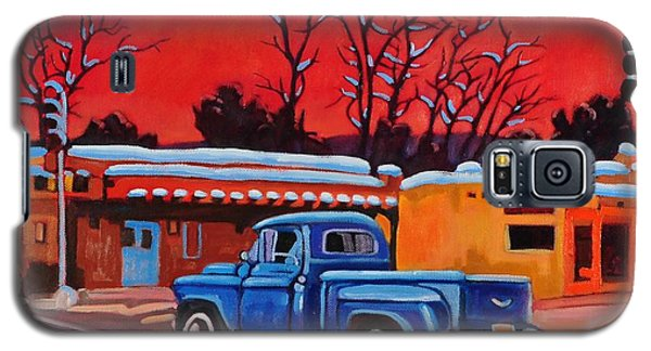 Taos Blue Truck At Dusk Galaxy S5 Case