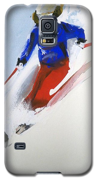Galaxy S5 Case featuring the painting Taos by Ed  Heaton