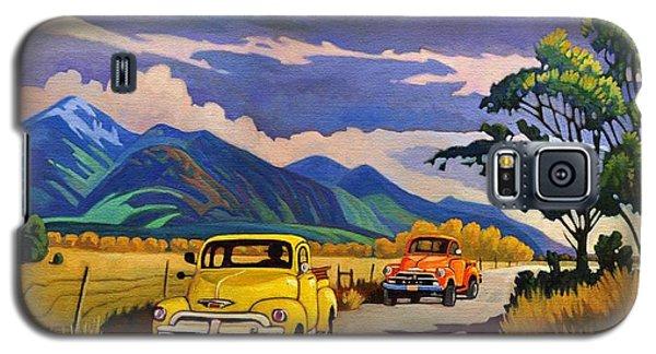 Taos Joy Ride With Yellow And Orange Trucks Galaxy S5 Case