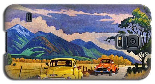 Taos Joy Ride With Yellow And Orange Trucks Galaxy S5 Case