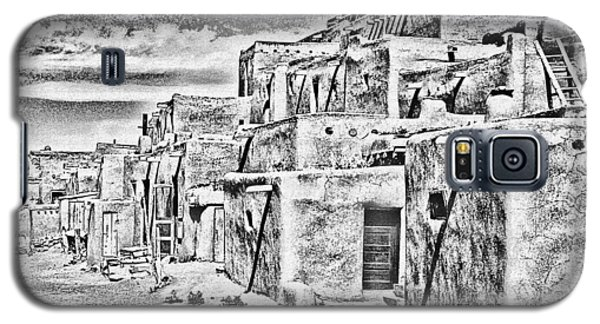 Taos Pueblo Abstract Galaxy S5 Case
