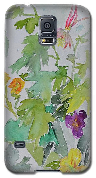 Galaxy S5 Case featuring the painting Taos Spring by Beverley Harper Tinsley