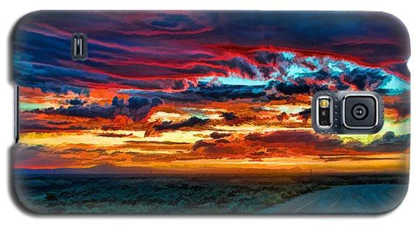 Taos Sunset Iv Galaxy S5 Case