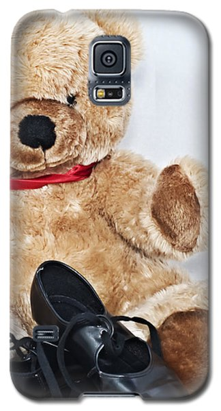 Tap Dance Shoes And Teddy Bear Dance Academy Mascot Galaxy S5 Case by Pedro Cardona
