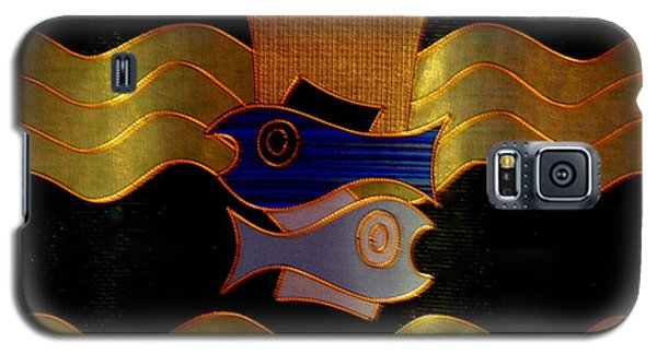 Galaxy S5 Case featuring the photograph Tapestry Of Holy Sacraments 2 by Antonia Citrino