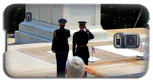 Taps At The Tomb Of The Unknown Galaxy S5 Case by Patti Whitten
