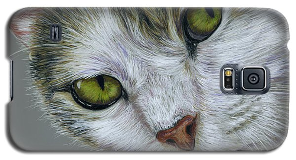 Tara Cat Art Galaxy S5 Case