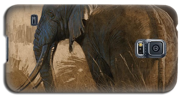 Tarangire Bull Galaxy S5 Case
