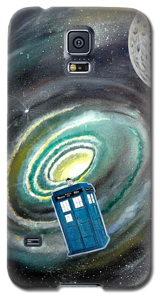 Tardis Galaxy S5 Case