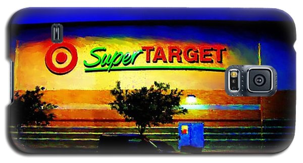 Target Super Store B Galaxy S5 Case by P Dwain Morris