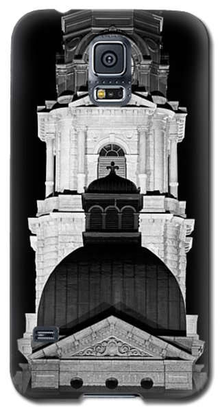 Tarrant County Courthouse Bw V1 020815 Galaxy S5 Case