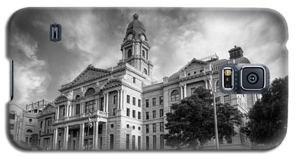 Tarrant County Courthouse Bw Galaxy S5 Case