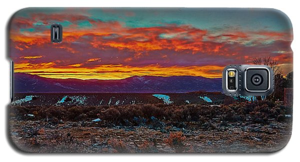 Taos Sunrise Galaxy S5 Case
