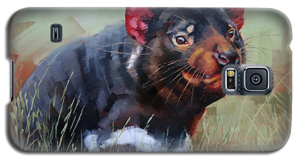 Tasmanian Devil Galaxy S5 Case by Margaret Stockdale