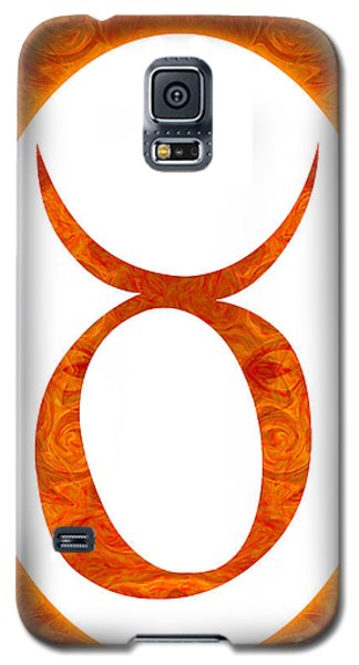 Taurus And Sacral Chakra  Abstract Spiritual Artwork By Omaste W Galaxy S5 Case