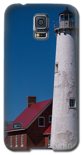 Galaxy S5 Case featuring the photograph Tawas Point Lighthouse by Patrick Shupert