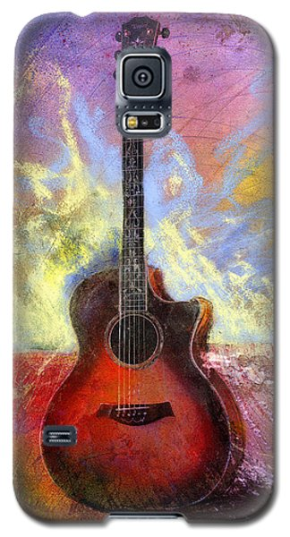 Galaxy S5 Case featuring the painting Taylor by Andrew King