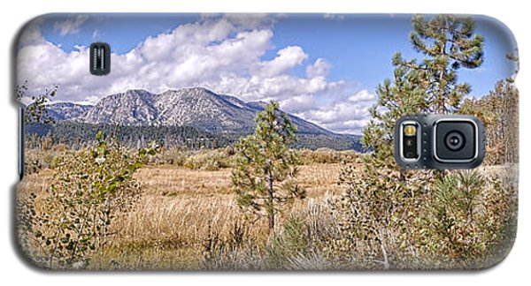 Galaxy S5 Case featuring the photograph Taylor Creek Panorama by Jim Thompson